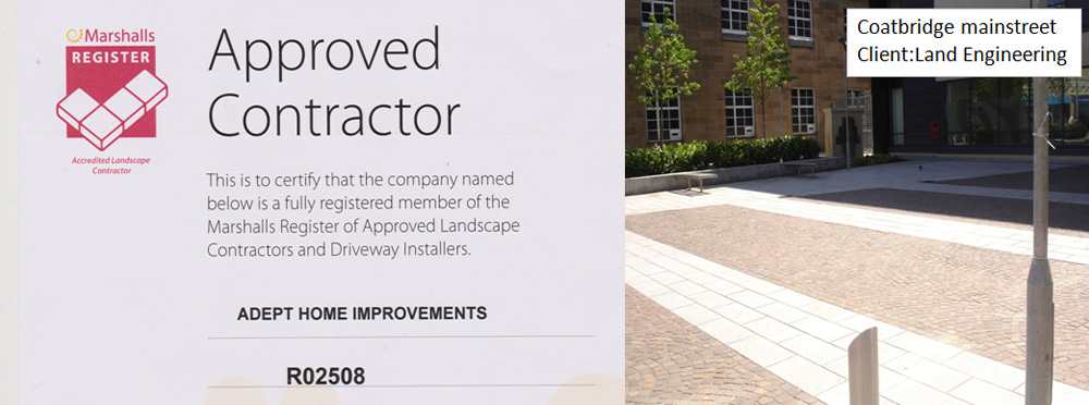 marshalls approved paving contractor